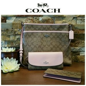 *LAST set* NEW Coach File Bag AND Wallet